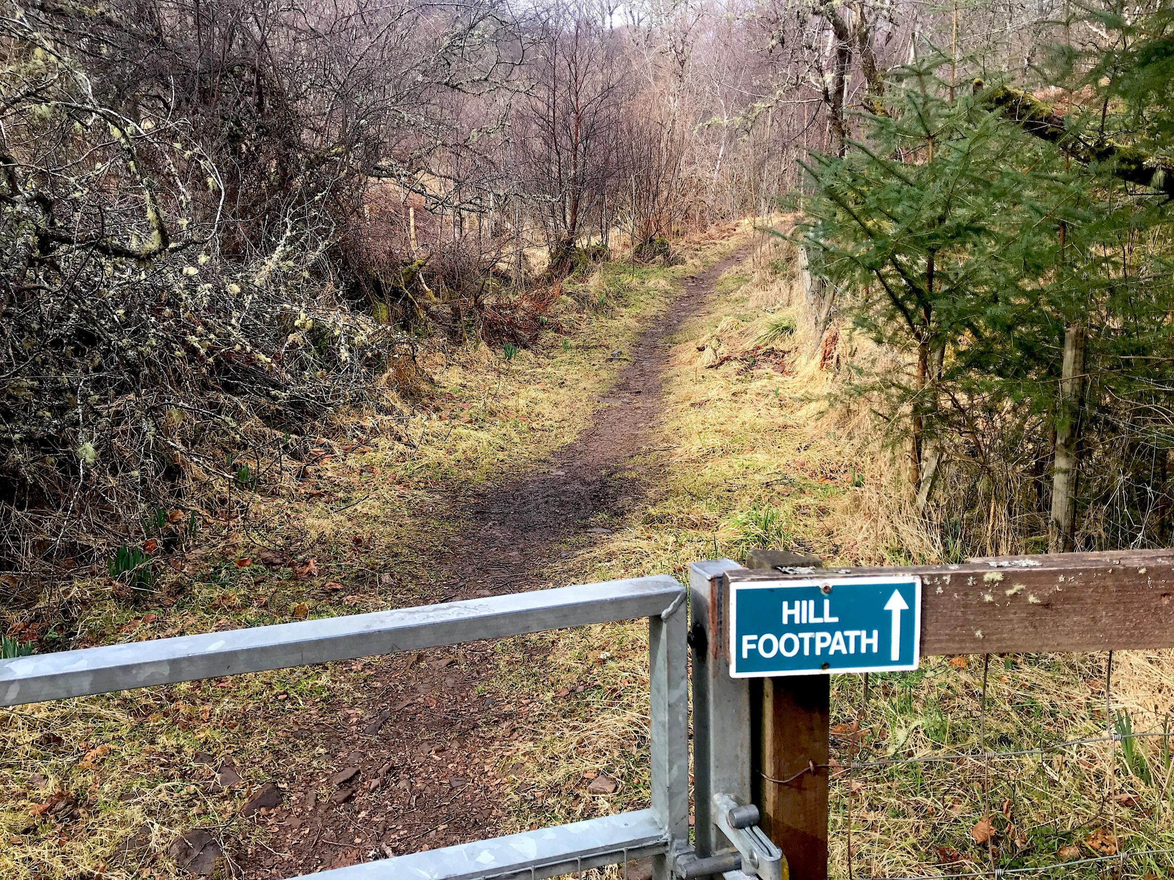 The walk: Mhonaidh, Inverness-shire