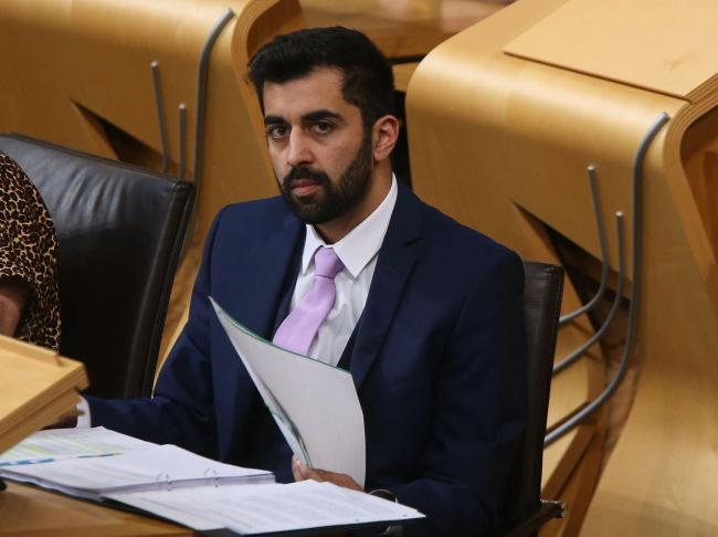Justice Secretary Humza Yousaf introduced the Hate Crime and Public Order (Scotland) Bill