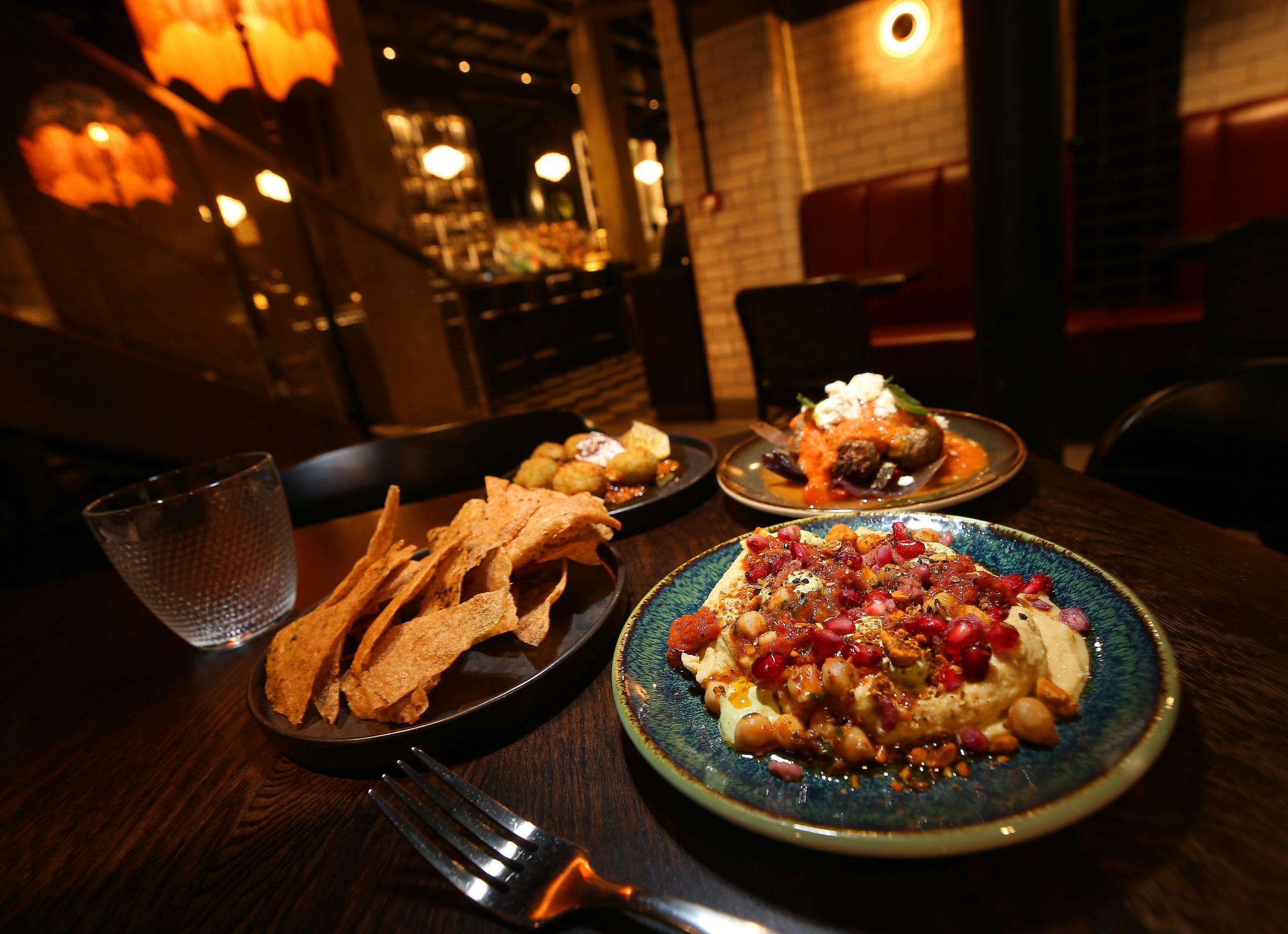 Middle-Eastern flavours at Lady Libertine