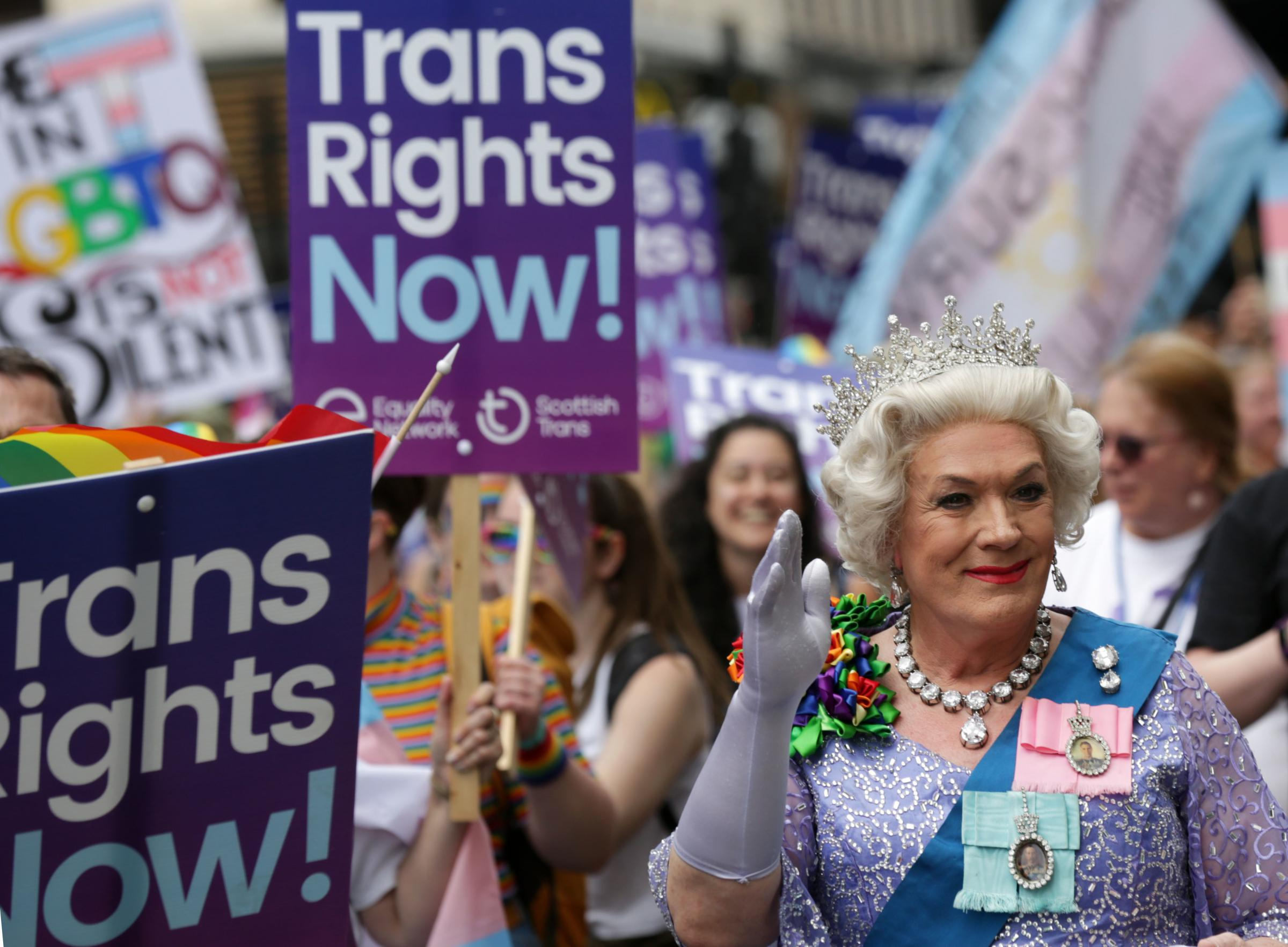 It's time for all those participating in the transgender debate to find a way out of their entrenched positions. Picture: David Cheskin/PA Wire.