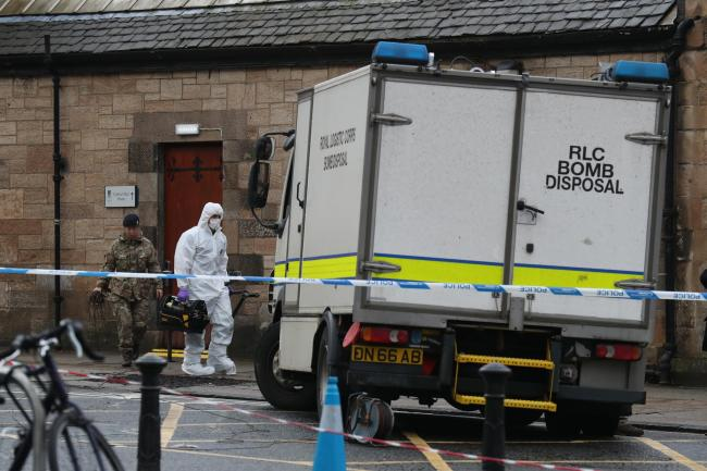 'IRA' claim responsibility for Glasgow and London letter bombs