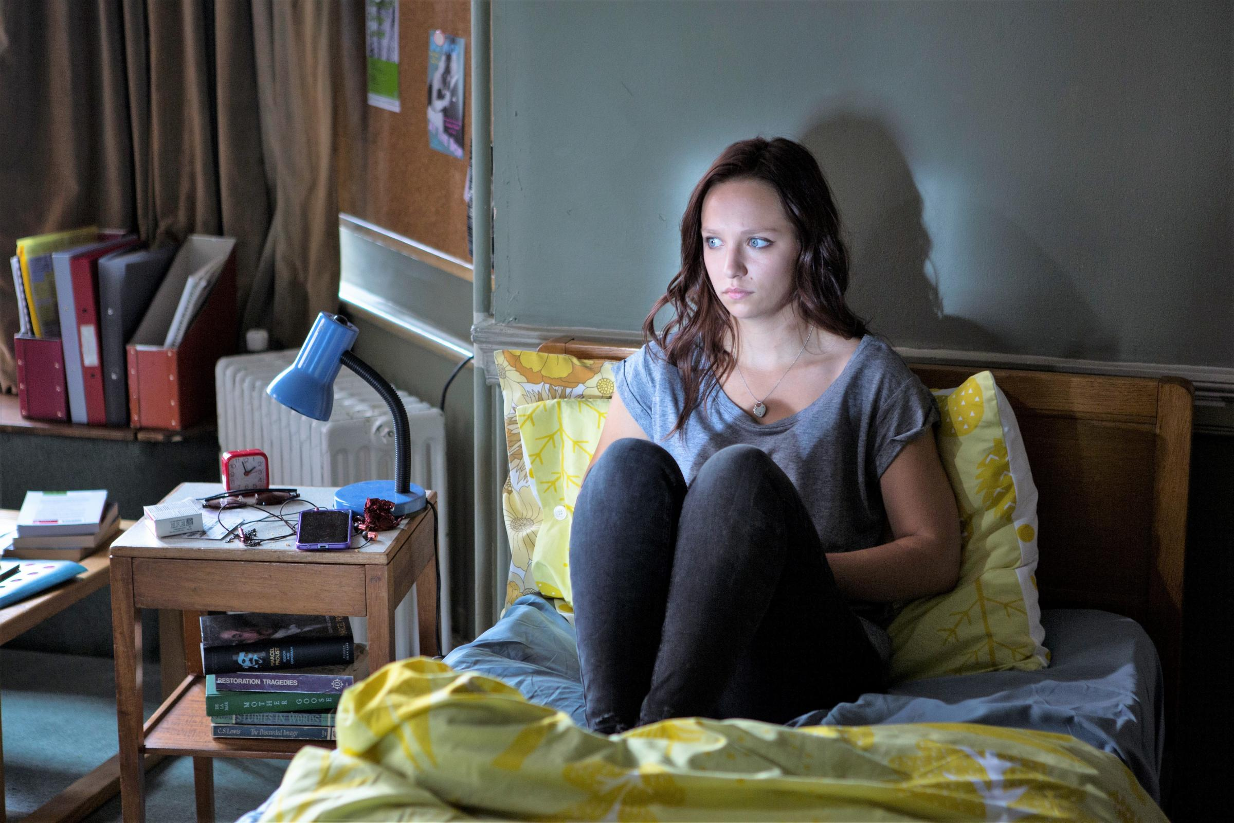 Molly Windsor as Rose in Cheat    Pic: ITV