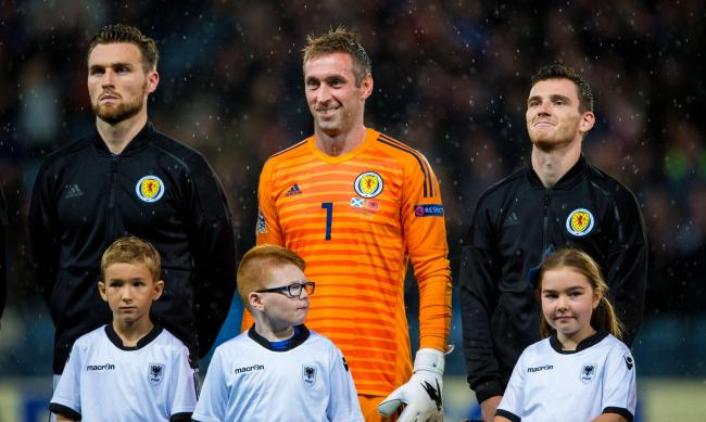 Allan McGregor collected 42 caps for his country
