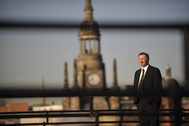 Stuart Patrick, chief executive of Glasgow Chamber of Commerce. Picture: Jamie Simpson.,