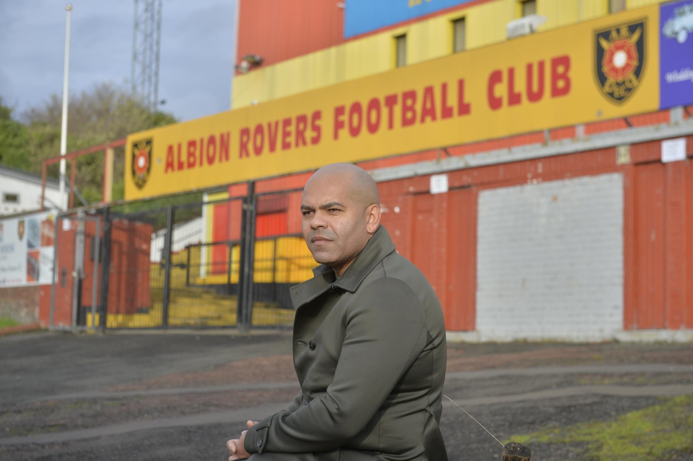 Kevin Harper has somehow taken Albion Rovers to the edge of safety