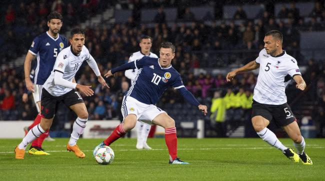 Scotland face Kazakhstan on Thursday as they bid to get their Euro 2020 campaign off to a winning start PHOTO: PA