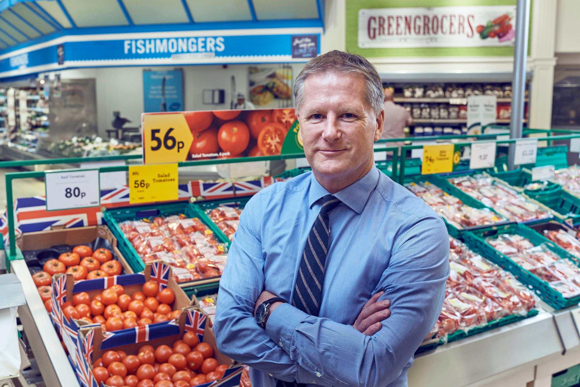 "David Potts, chief executive of Morrisons supermarket said ""consumers were more cautious in more uncertain times""."