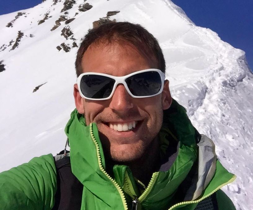 Swiss national Mathieu Biselx, 30, lost three members of his group on Ben Nevis in the Highlands on Tuesday.