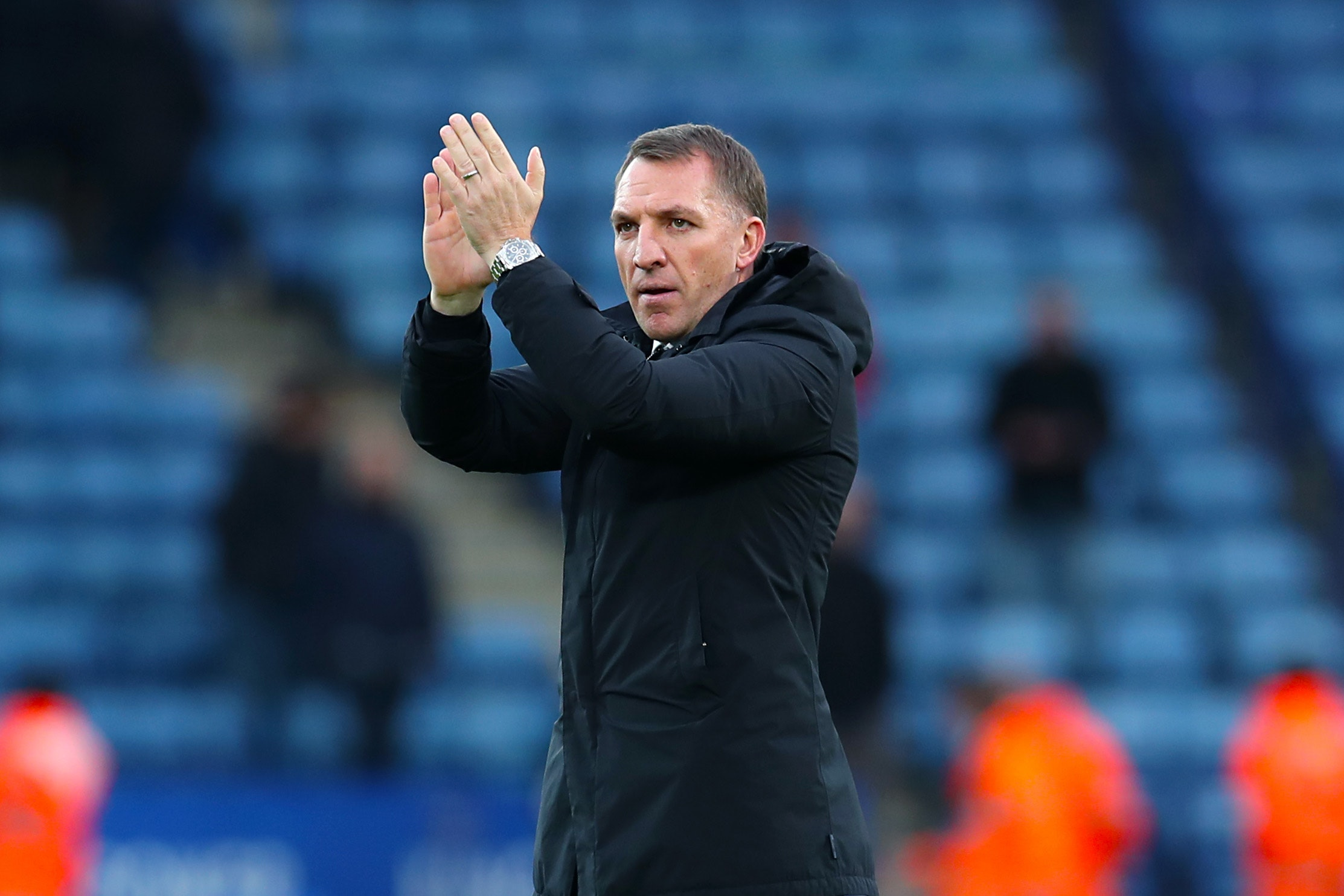 Leicester manager Brendan Rodgers will help in the search for a new head of recruitment