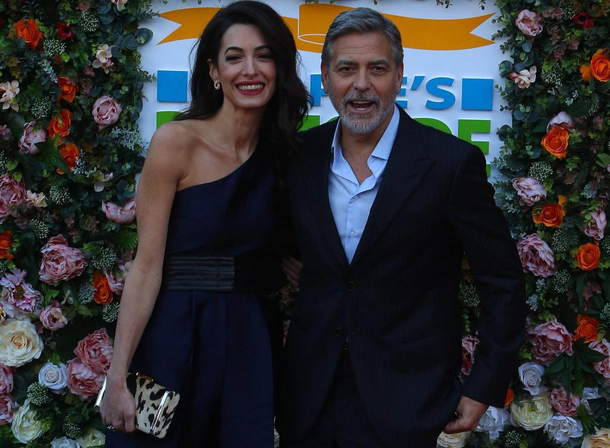 From glitz to gravitas: Clooneys tell Scots of world