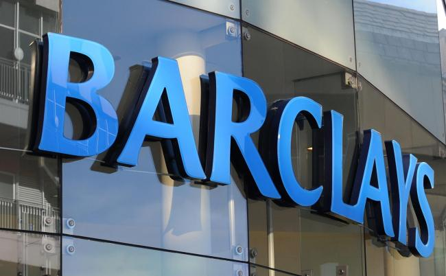 File photo dated 05/02/13 of a Barclays sign. Barclays customers have been struggling to log in to their accounts and get through on the phone after the bank suffered hitches on Thursday. PRESS ASSOCIATION Photo. Issue date: Thursday September 20, 2018. T