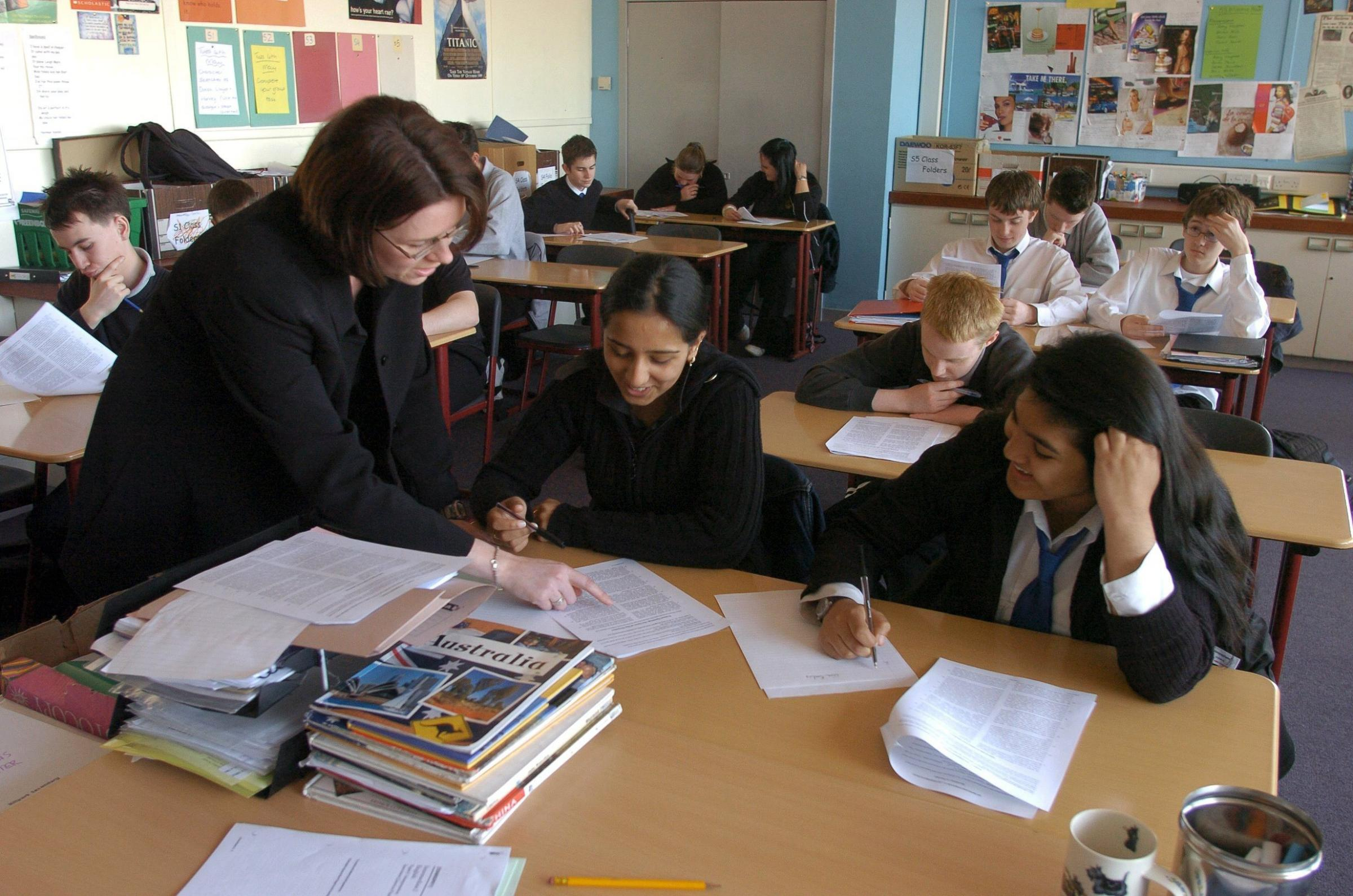 Results for all pupils have improved, but attainment gap is widening