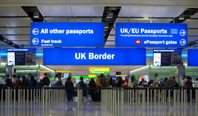 The OBR has forecast post-Brexit changes to the immigration system will push up public sector net borrowing in 2024/25 by £1bn. Picture: Steve Parsons/ PA.