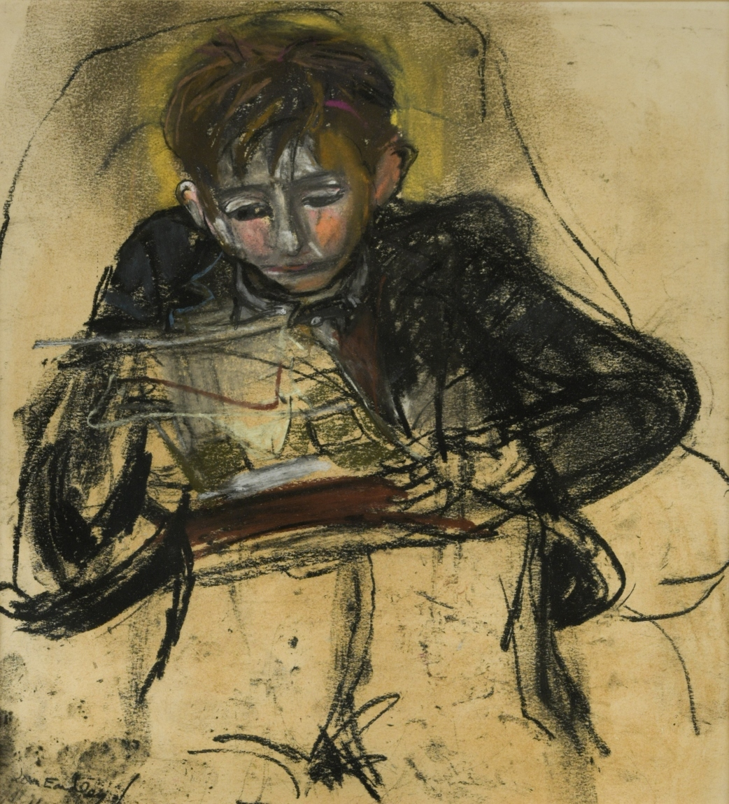 The work by Joan Eardley sold by Hertfordshire County Council