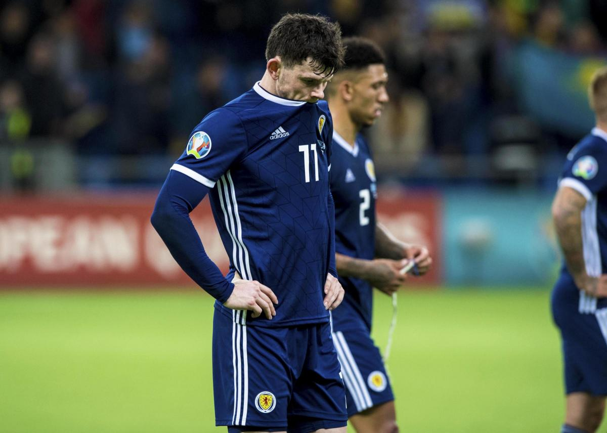 Oliver Burke  Scotland s players failed to carry out Alex McLeish s game  plan - blame us not him de08981e1