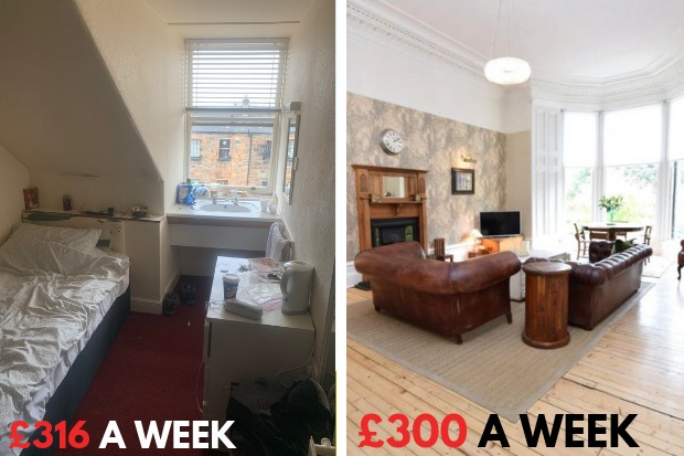 Revealed: £1370 a month to live in squalor in Scotland's temporary accommodation