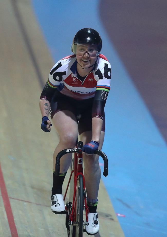 Katie Archibald will go for gold at the European Championships this week. Photo: Martin Rickett/PA Wire.