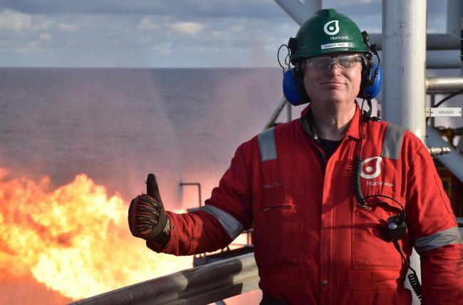Hurricane Energy chief Robert Trice has led the firm on a pioneering exploration drive off Shetland