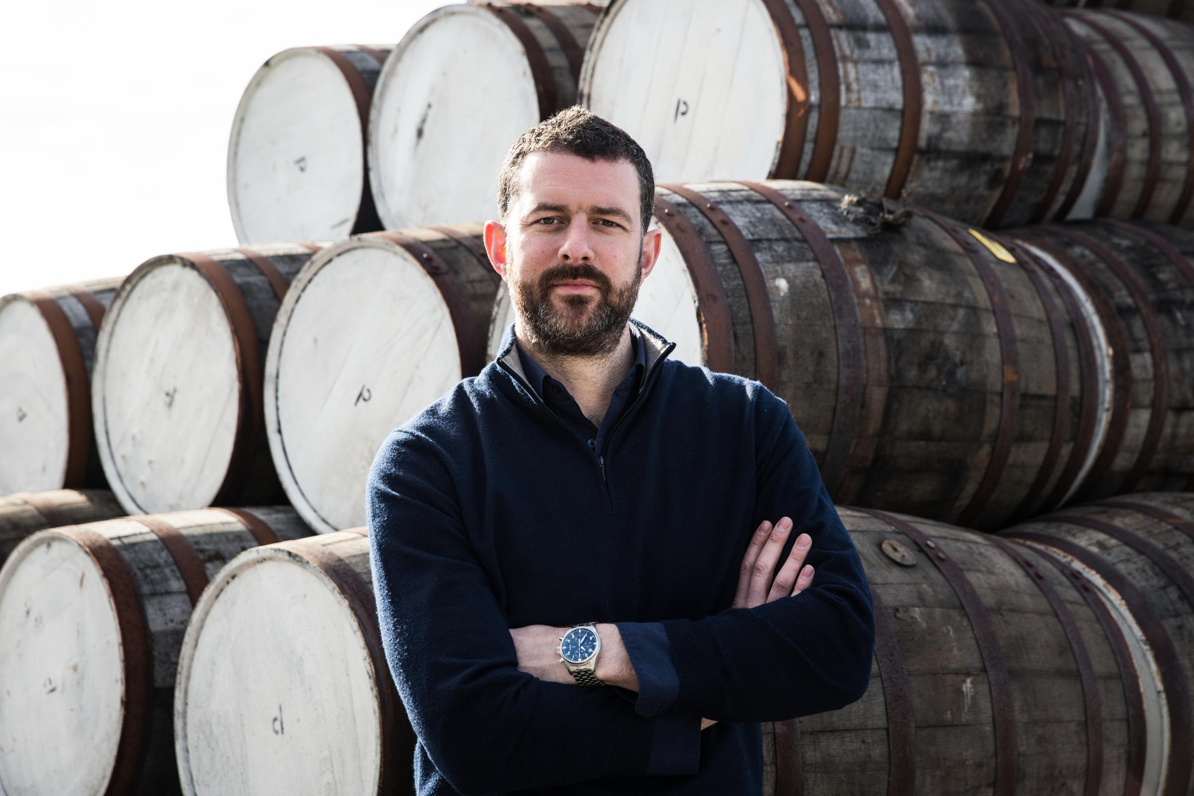 Douglas Taylor, chief executive, Bruichladdich Distillery