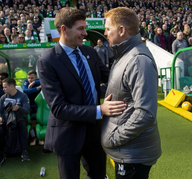 Steven Gerrard and Neil Lennon are friendly and respectful to one another - why can't more fans follow their example