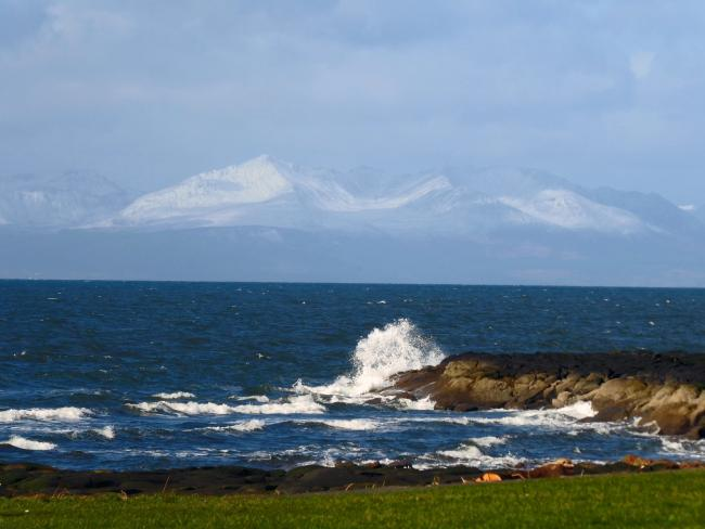 Jean Penman - Snow on Arran again