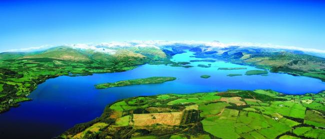 Loch Lomond and the Trossachs National Park.