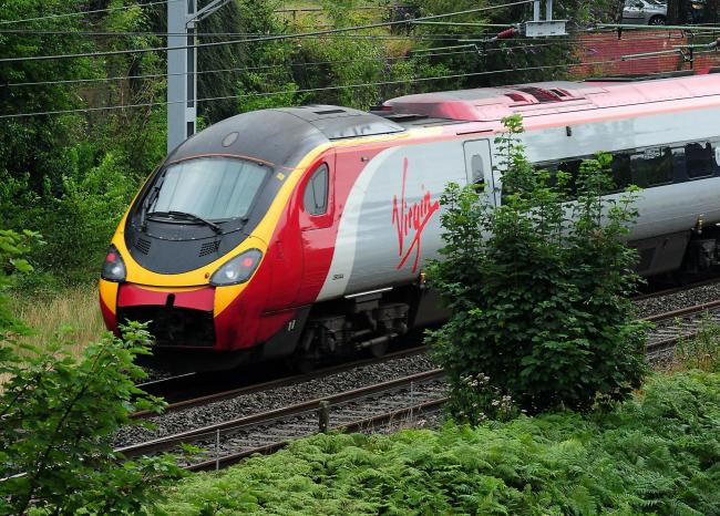 There heas been a huge rise in the number of people travelling between Glasgow and London by train