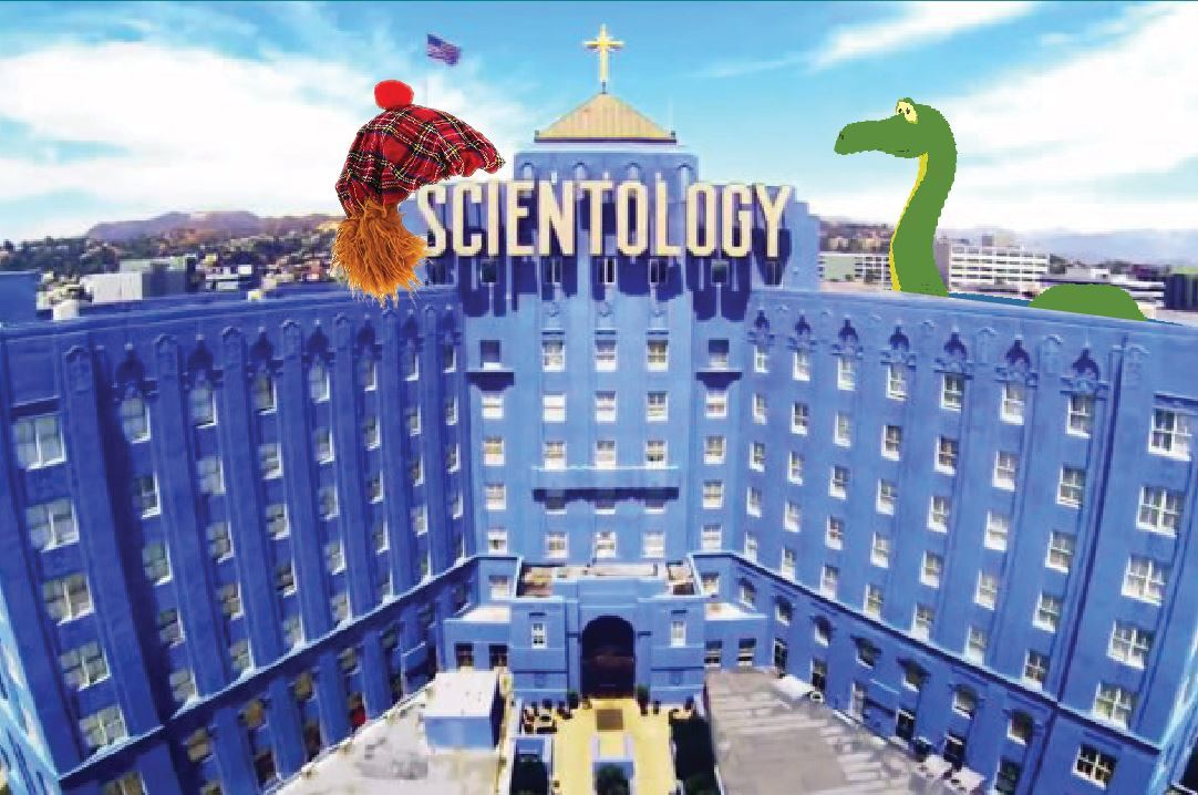 FUTURE SHOCK: Scientology's secrets need to be taken seriously now that the alien religion has landed in Scotland