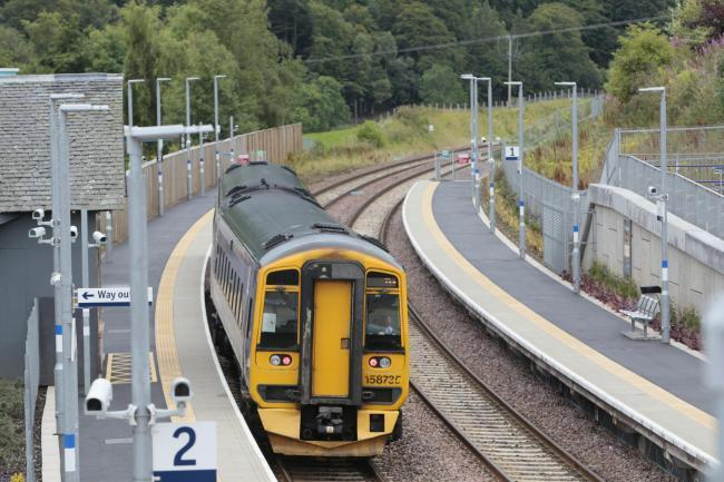 Scotrail plans to cut down trees along its tracks
