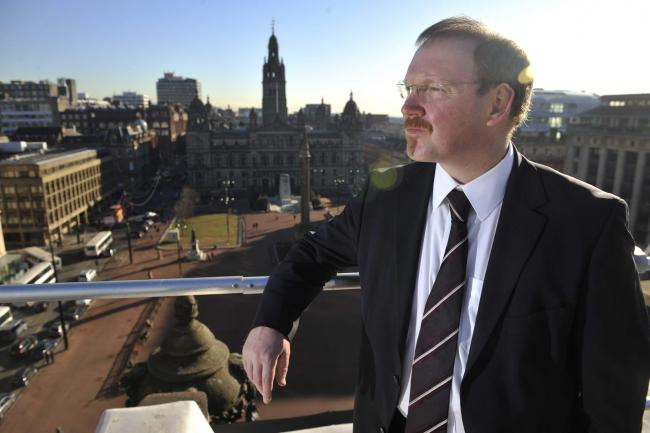 Stuart Patrick, Glasgow Chamber of Commerce Chief Exec-JS