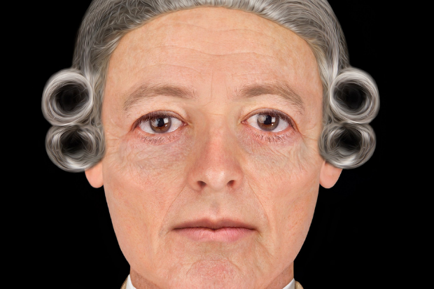 Digital image shows Bonnie Prince Charlie on his death bed