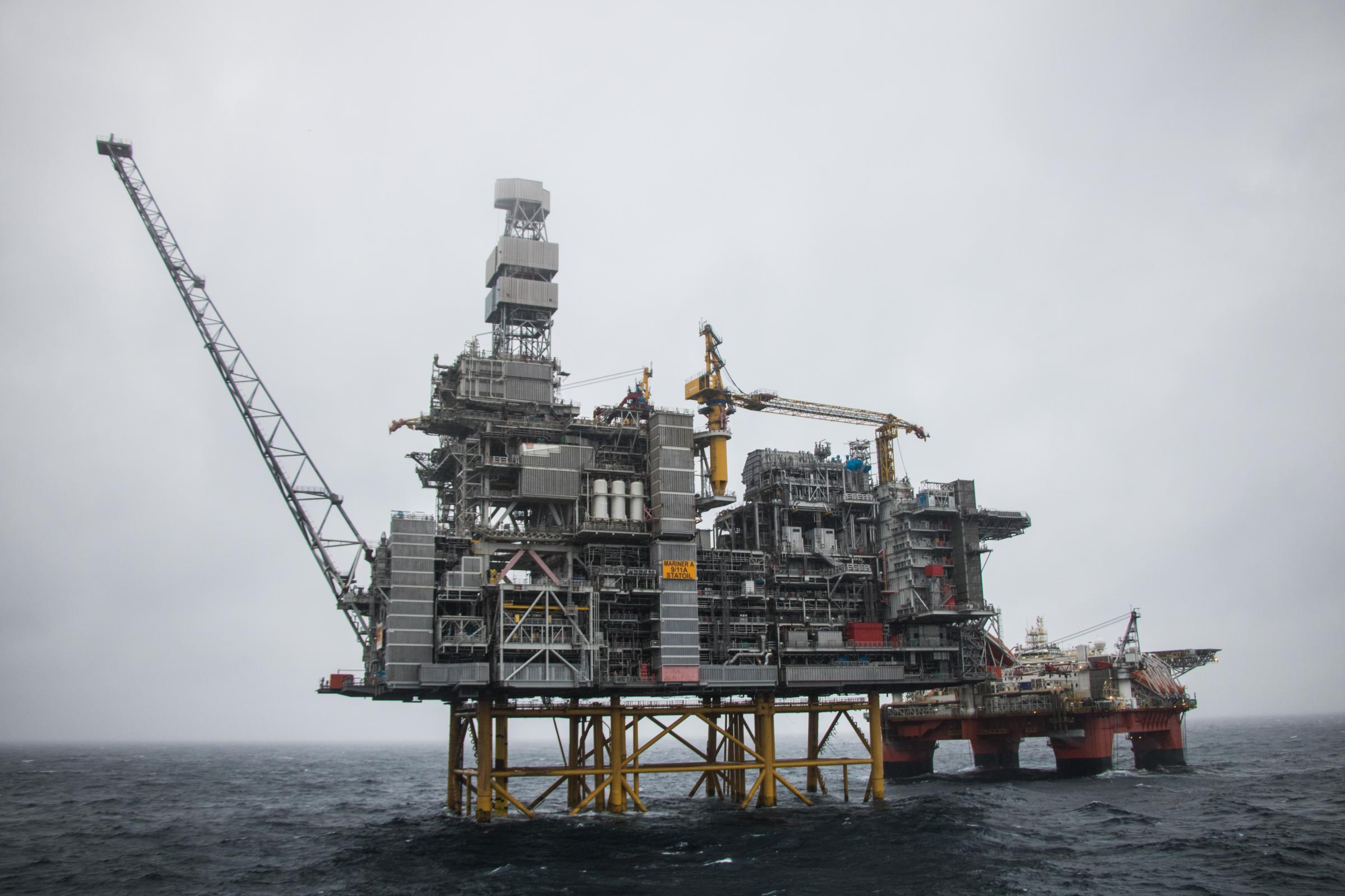 The Mariner production platform East of Shetland Picture: Jamie Baikie/Equinor