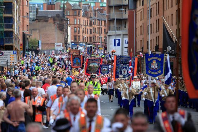 Glasgow Orange parades march time, road closures and police warnings