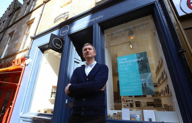 Ben Harman, Director of Stills photography gallery in Edinburgh's Cockburn Street where the council have increased the annual rent by £30,000. STY MILLERPicture: Gordon Terris/The Herald