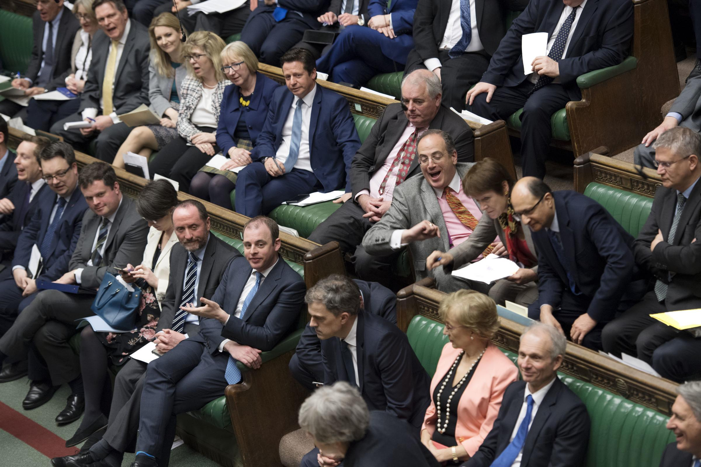 MPs in the House of Commons this week