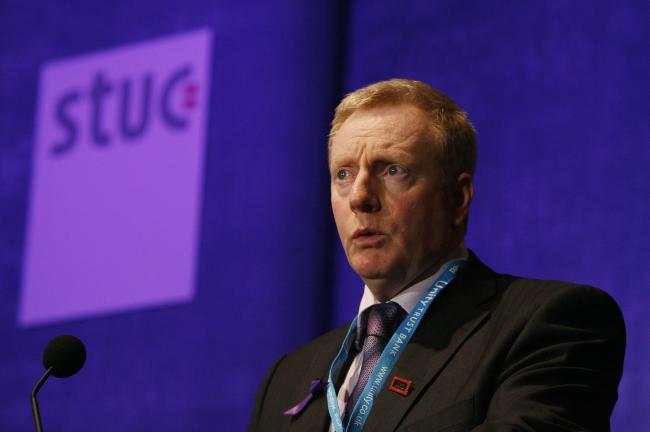 Graeme Smith, general secretary of the STUC