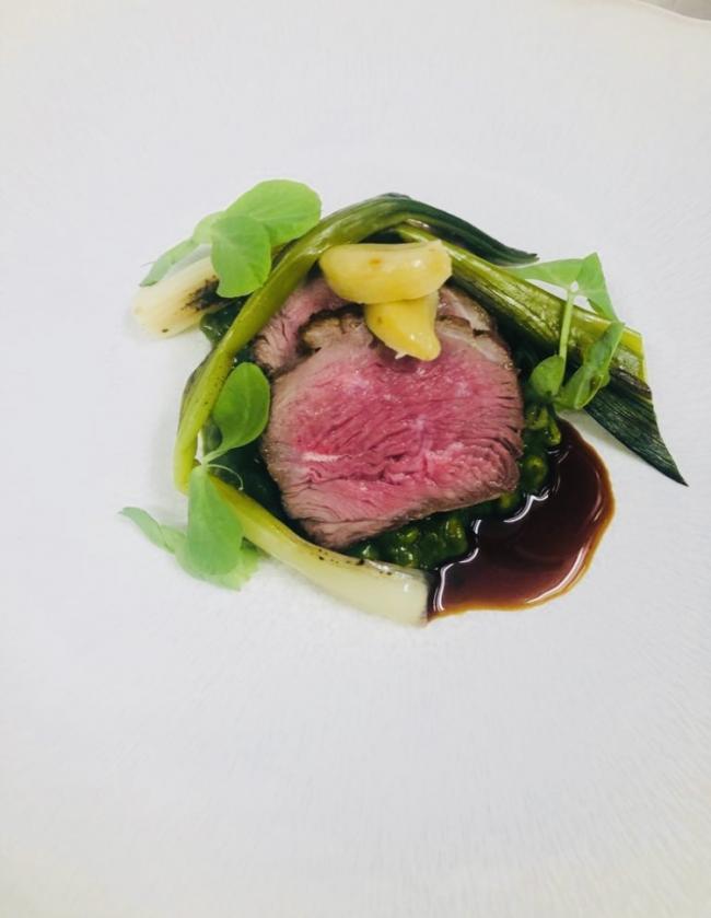 Recipe: Roasted rump of Scottish lamb by Derek Johnstone, Head Chef
