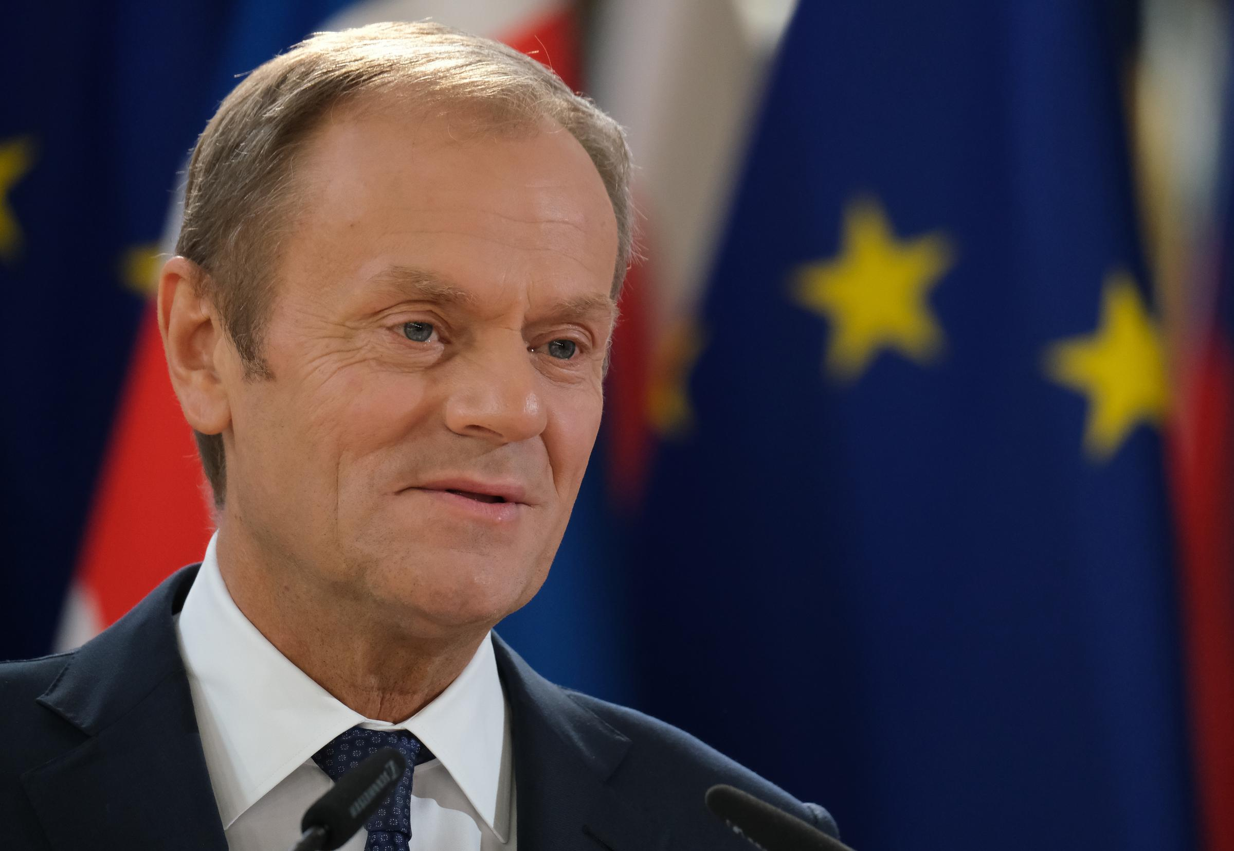 Donald Tusk, President of the European Council, has a had key role in setting the EU's negotiation stance.