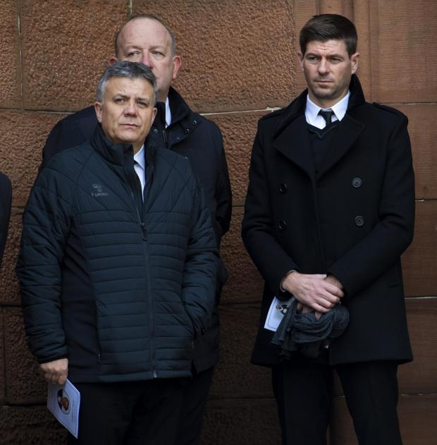 HeraldScotland: Mark Allen and Steven Gerrard
