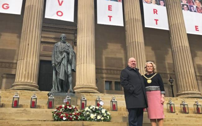 Liverpool pauses to remember Hillsborough fallen on 30th anniversary