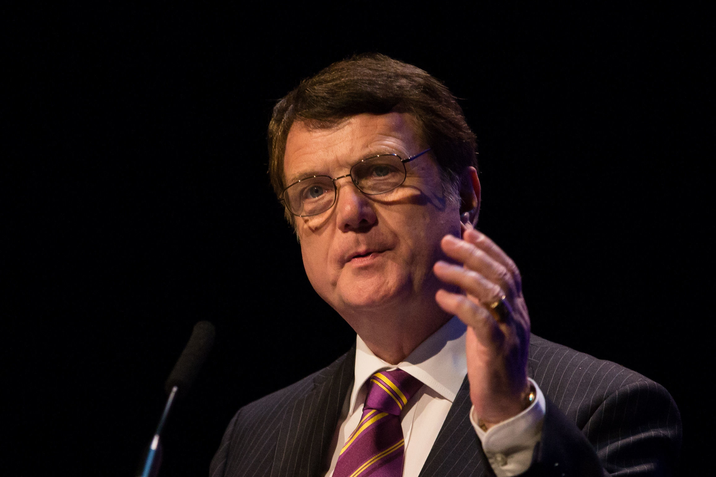 "File photo dated 21/09/18 of Ukip Party leader Gerard Batten, who has described a candidate's rape tweet to MP Jess Phillips as ""satire"", and defended his own belief that Islam is a ""death cult"". PRESS ASSOCIATION Photo. Issue date"