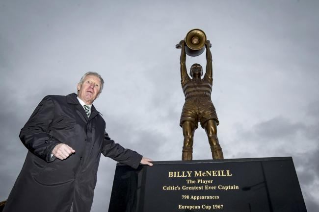 Billy McNeill is to be honoured for his