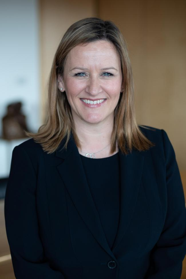 Gillian Crandles has taken over from Ian Clark as managing partner of private client law firm Turcan Connell. Picture: Julie Broadfoot.