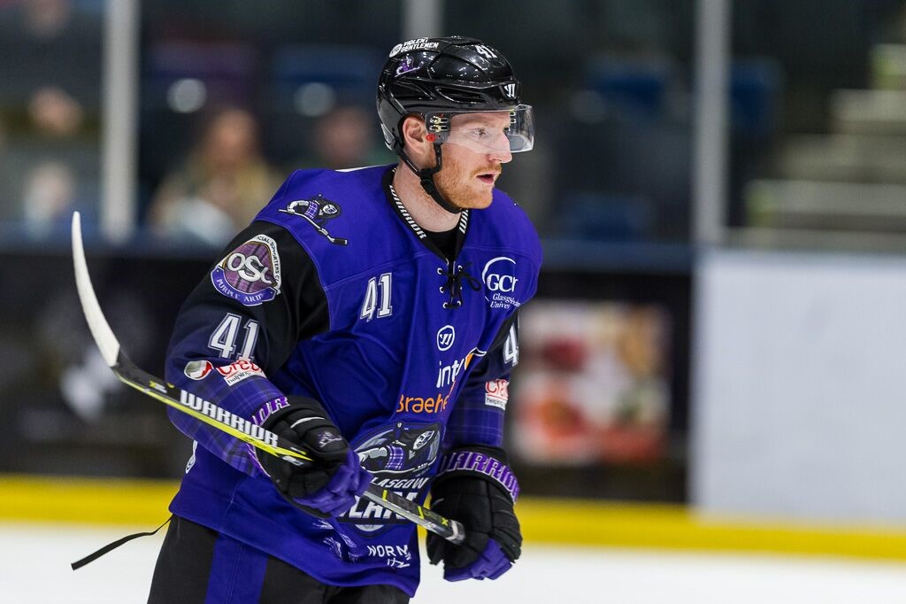 Scott Tanski all set after signing on at Glasgow Clan again