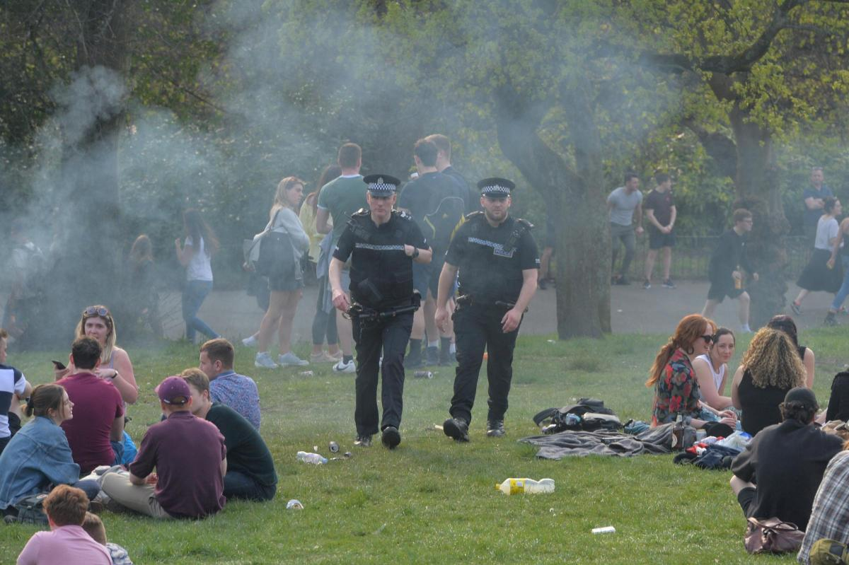 Teenagers arrested over disturbance at Kelvingrove Park in Glasgow
