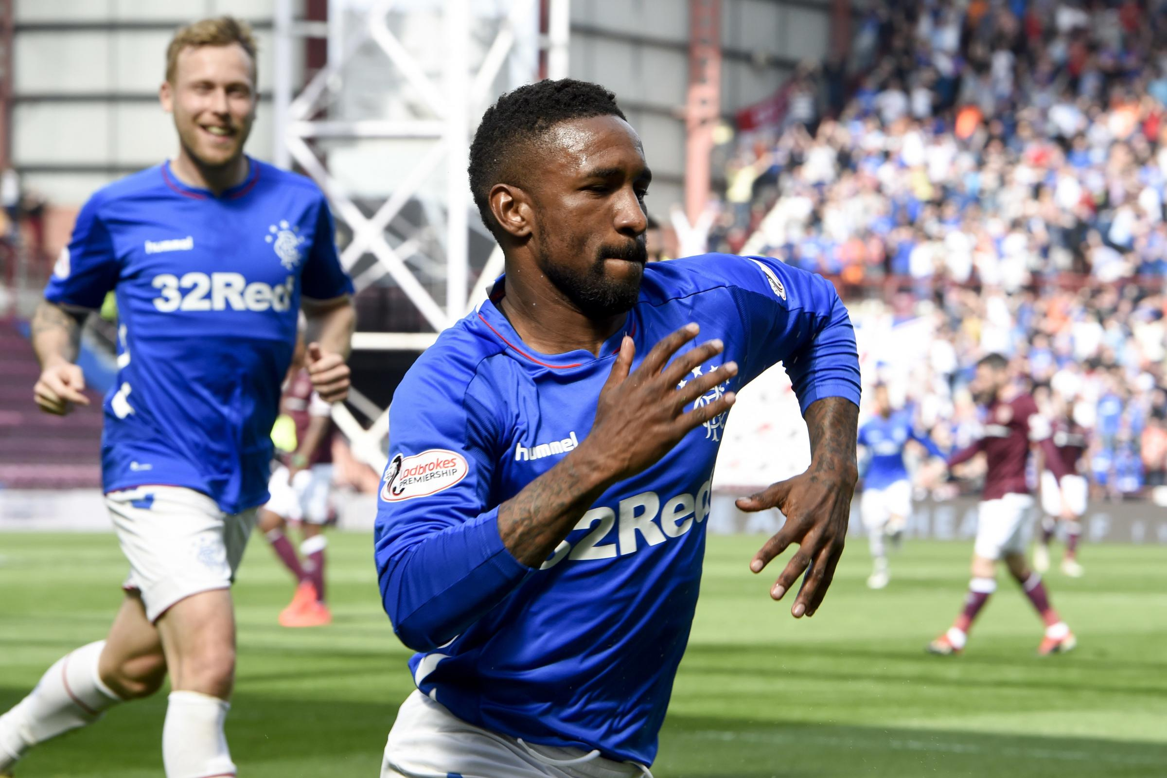 Hearts 1 Rangers 3: Ibrox side hitting form on the run in just as games run out