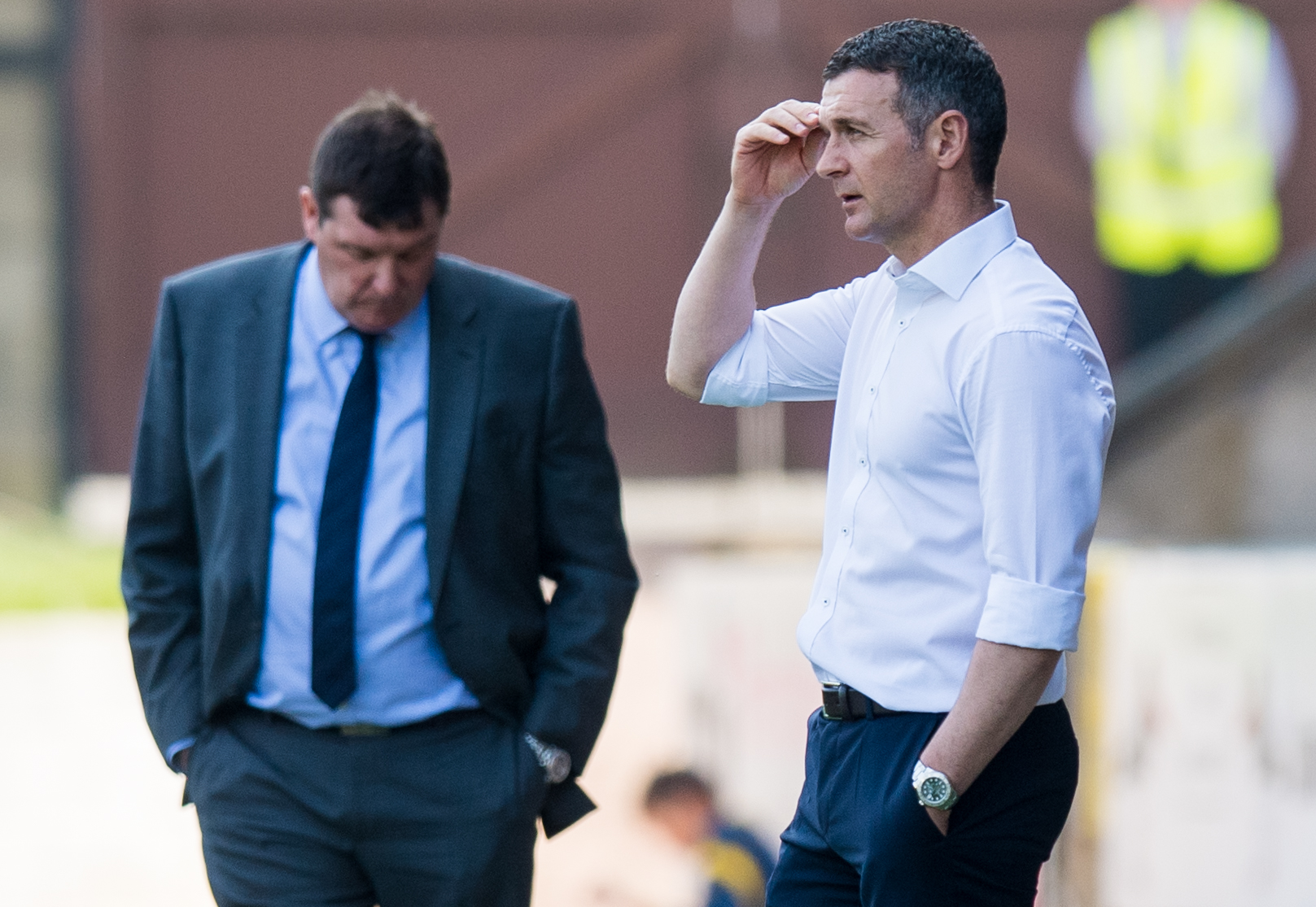 Tommy Wright and Jim McIntyre