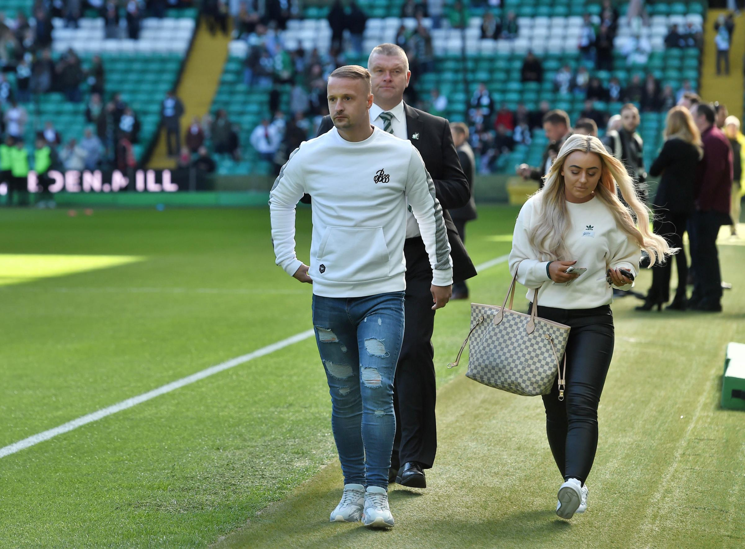 Leigh Griffiths could be back training this week