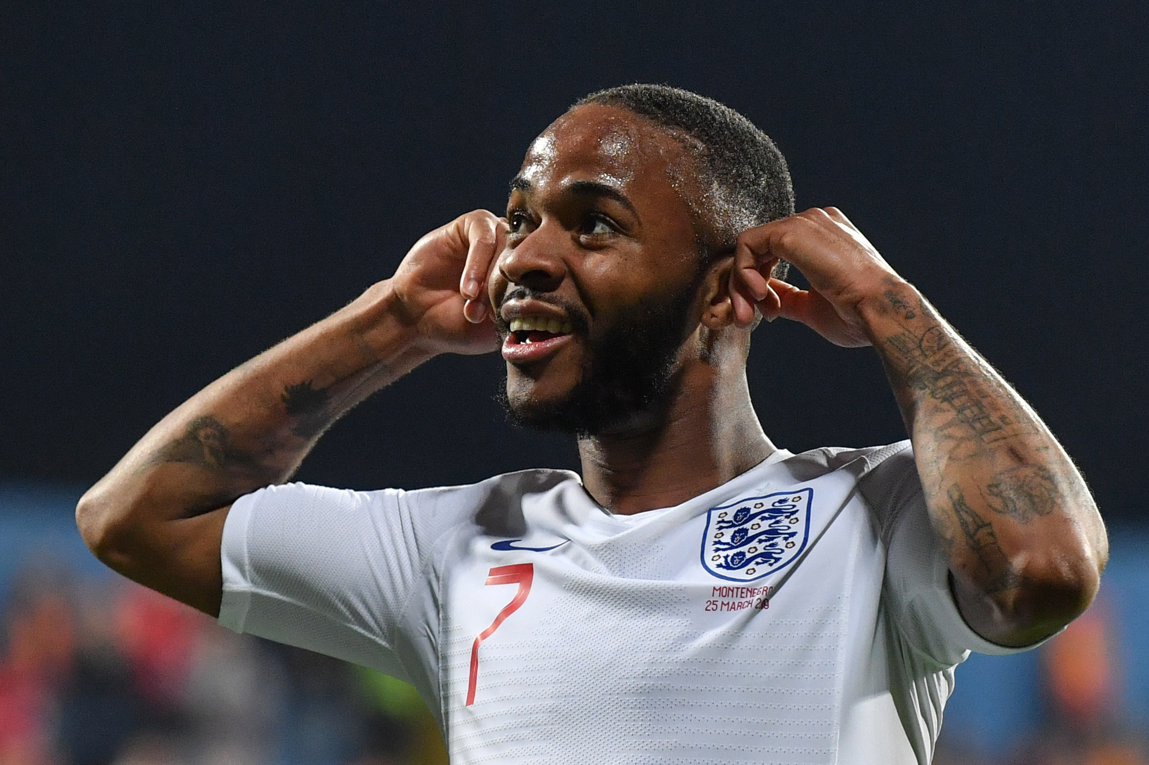 Raheem Sterling has been a vocal spokesman against racial abuse of footballers