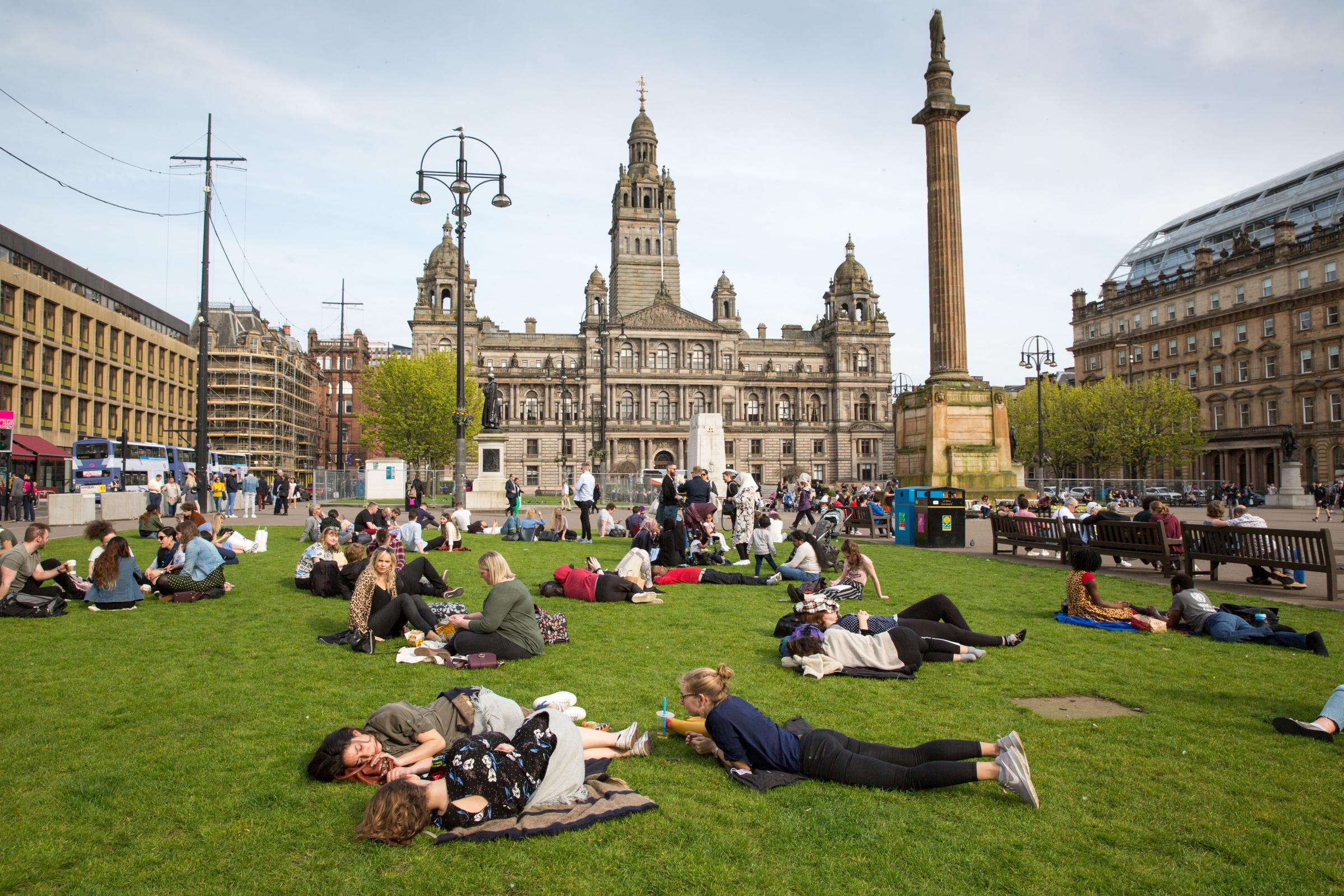Scotland weather: Record-breaking temperatures recorded